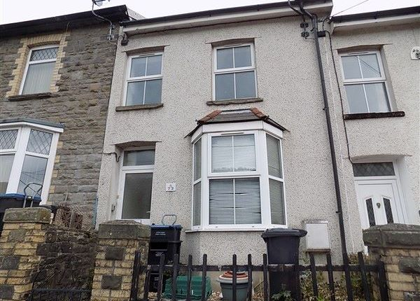 Thumbnail Terraced house to rent in Queen Street, Abertillery
