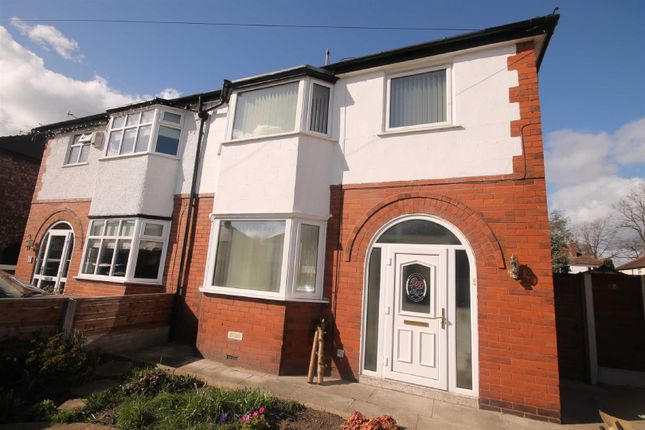 3 bed semi-detached house to rent in Cumberland Road, Urmston, Manchester