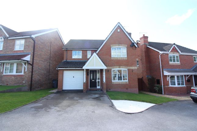 Thumbnail Detached house for sale in Durham Drive, Lightwood, Longton, Stoke-On-Trent