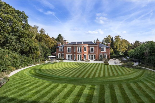 Thumbnail Detached house for sale in West Drive, Virginia Water, Surrey