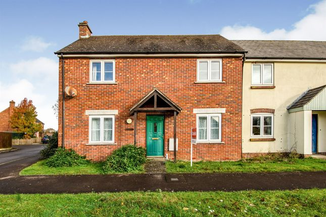 Thumbnail End terrace house for sale in Vaile Mead, Hazelbury Bryan, Sturminster Newton