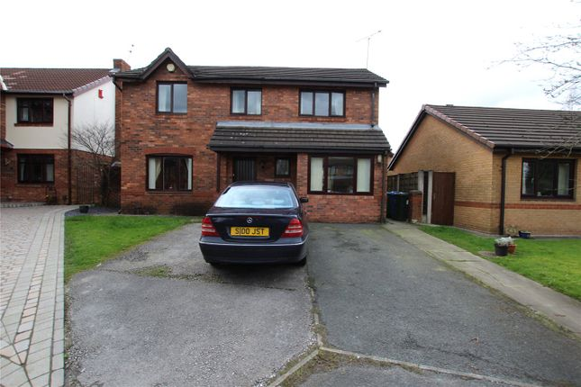 Thumbnail Detached house for sale in Hollowsfarm Avenue, Rochdale, Greater Manchester