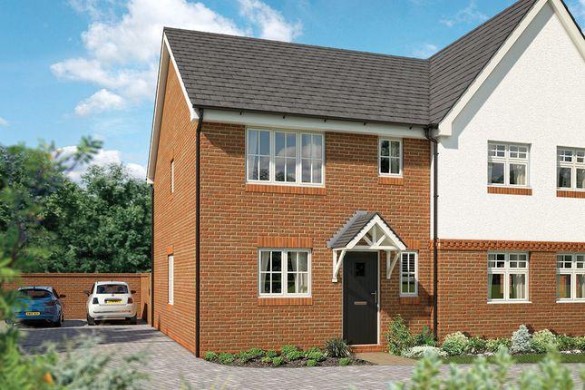 "Thumbnail Semi-detached house for sale in ""The Brampton"" at Newington Road, Stadhampton, Oxford"