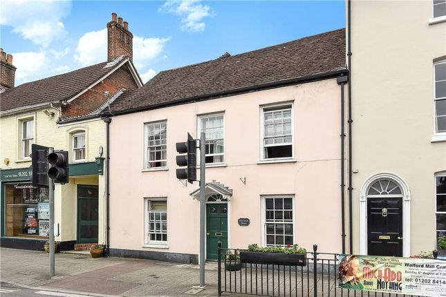 Thumbnail Terraced house for sale in West Borough, Wimborne