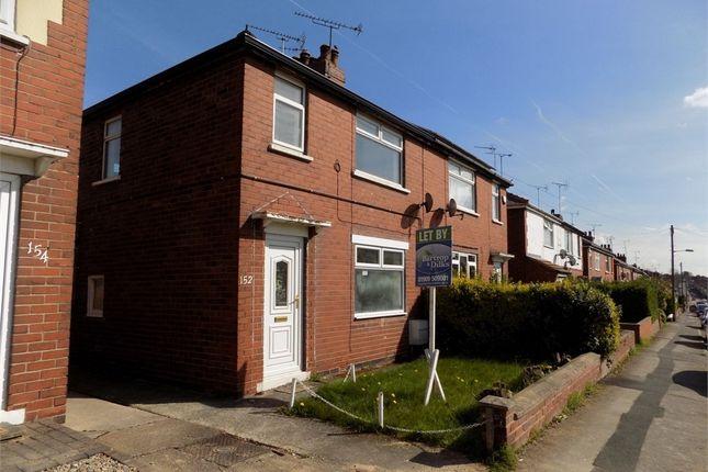 Thumbnail Semi-detached house to rent in Anston Avenue, Worksop, Nottinghamshire