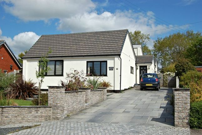 Thumbnail Detached bungalow for sale in School Lane, Newton, Preston
