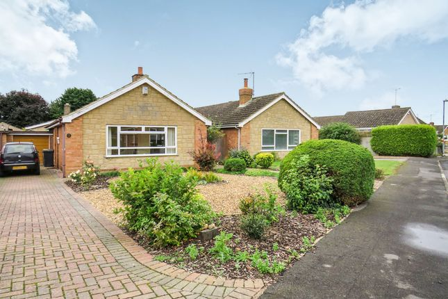 Thumbnail Detached bungalow for sale in The Paddock, Raunds, Wellingborough