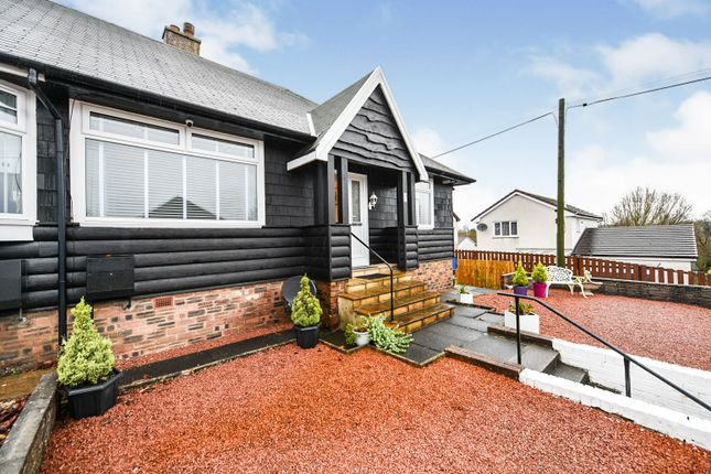 Thumbnail Semi-detached house for sale in Portland Brae, Hurlford, Kilmarnock