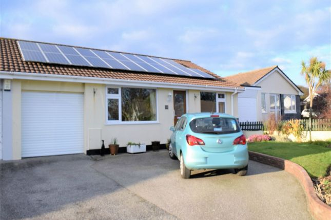 Thumbnail Semi-detached bungalow for sale in Carharrack, Redruth, Cornwall