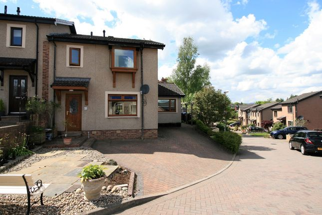 Thumbnail Semi-detached house for sale in Roger Quin Gardens, Galashiels