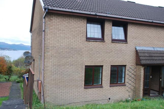 Thumbnail 2 bedroom flat to rent in Dunrobin Drive, Gourock