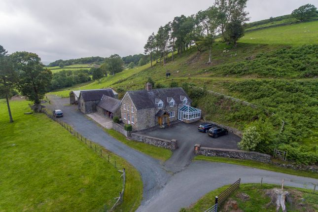 Thumbnail Detached house for sale in Llangadfan, Welshpool