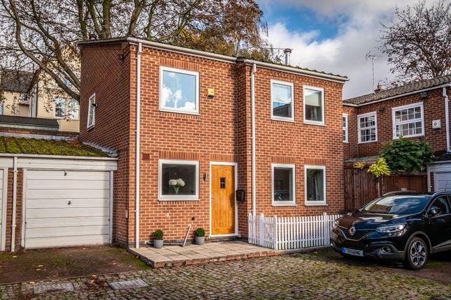 Thumbnail Link-detached house for sale in Pelham Crescent, The Park, Nottingham