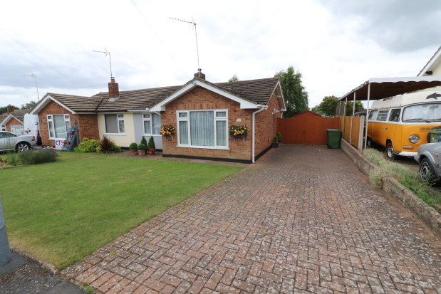 2 bed semi-detached bungalow to rent in Cromwell Way, Witham CM8