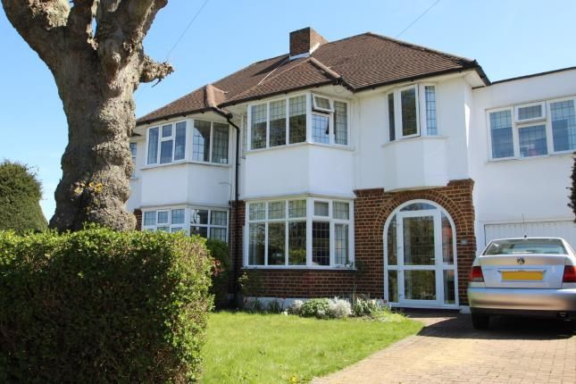 Thumbnail Semi-detached house for sale in Highfield Road, Sutton, Surrey