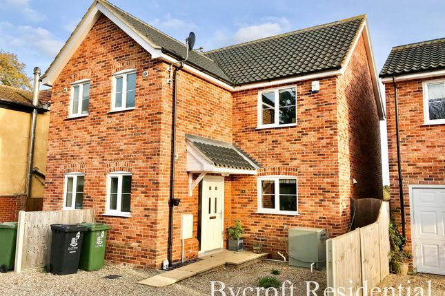 Thumbnail Semi-detached house for sale in Fir Tree Close, Mill Lane, Fleggburgh