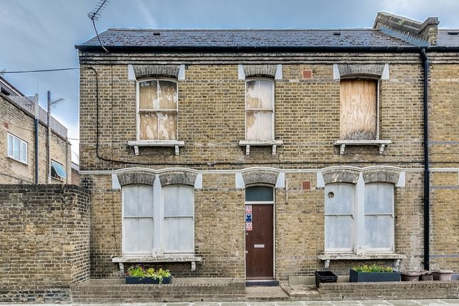 Thumbnail End terrace house for sale in Tisdall Place, London