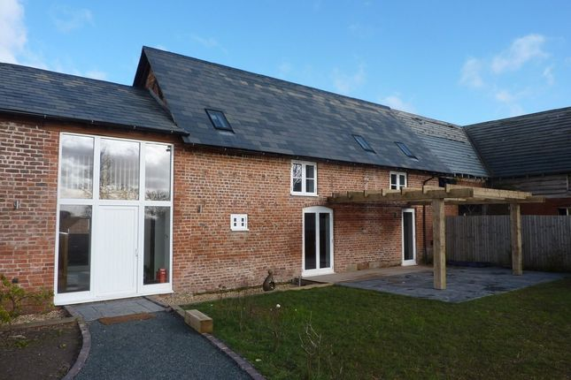 Thumbnail Barn conversion to rent in Burlton, Shrewsbury