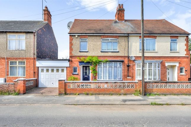 Thumbnail Semi-detached house for sale in Upper Queen Street, Rushden, Northamptonshire