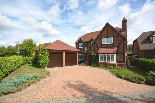 Thumbnail Detached house for sale in Loxbeare Drive, Furzton, Milton Keynes