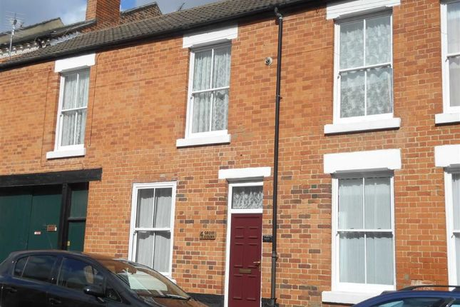 Thumbnail Terraced house to rent in Edward Street, Derby