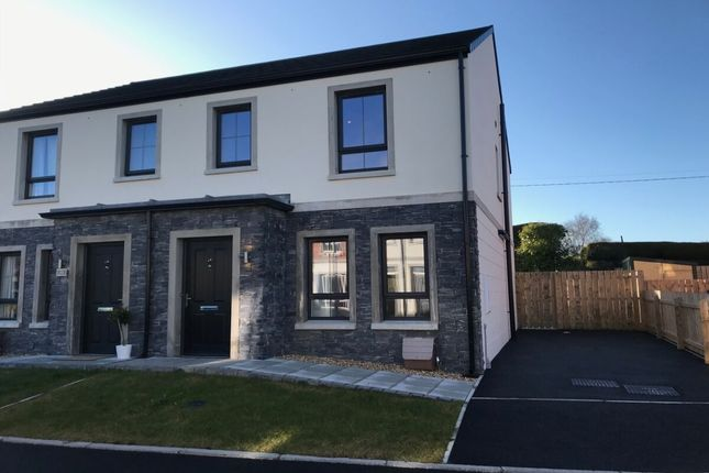 Thumbnail Semi-detached house for sale in Spinners Gate, Balloo, Killinchy, Newtownards