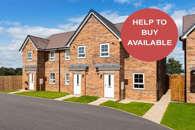 "Thumbnail Semi-detached house for sale in ""Palmerston"" at Firfield Road, Blakelaw, Newcastle Upon Tyne"