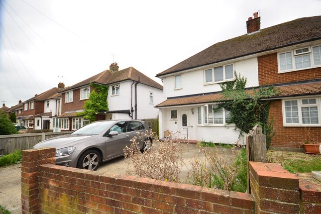 Thumbnail Semi-detached house to rent in Camden Road, Broadstairs