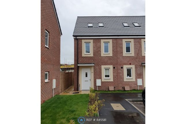 Thumbnail End terrace house to rent in Hamilton Drive, Bridgwater