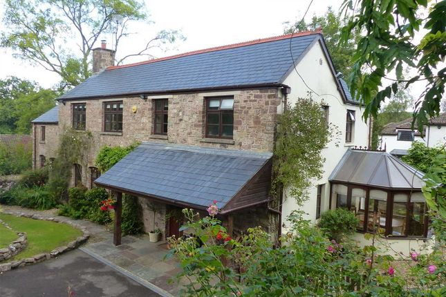 Thumbnail Detached house for sale in Tyr-Ywen, Weyloed Lane, Chepstow