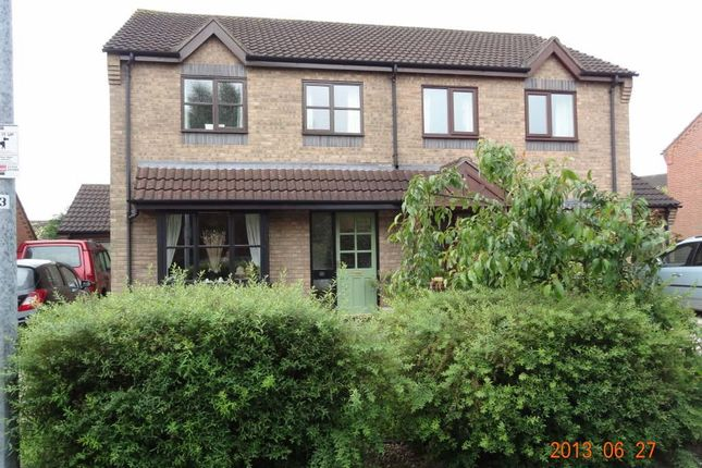 Thumbnail Semi-detached house to rent in Rue De Nozay, Broughton, Brigg
