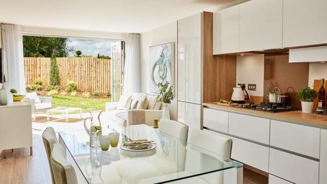 Kitchen of Greenhall Village, Blantyre, Glasgow G72