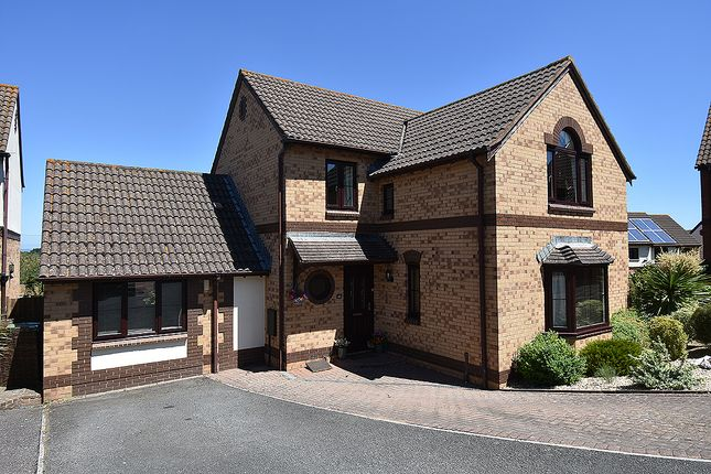 Thumbnail Detached house for sale in Brownlees, Exminster, Near Exeter