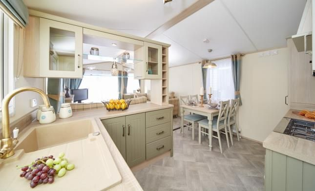 Kitchen of The Atlas Debonair, Sutton Holiday Park, Vale Road, Sutton CT15