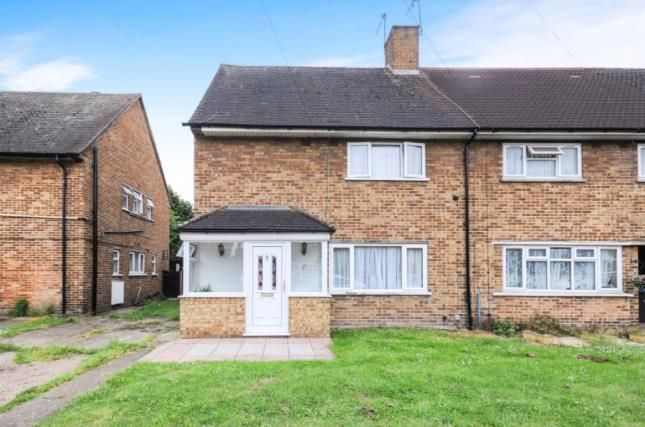 Thumbnail End terrace house for sale in Roedean Close, Enfield, London