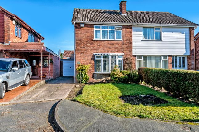 Thumbnail Semi-detached house for sale in Corsican Close, Willenhall