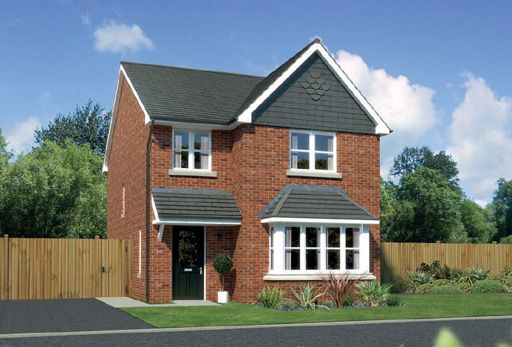 """Thumbnail Detached house for sale in """"Parkwood"""" At Arrowe Park Road, Upton, Wirral CH49, Upton, Wirral,"""