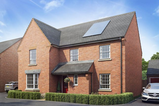 "Thumbnail Detached house for sale in ""Greenvale"" at Warkton Lane, Barton Seagrave, Kettering"