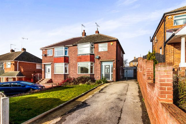 Thumbnail Semi-detached house for sale in Hall Crescent, Rotherham