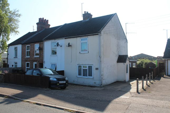 Thumbnail End terrace house for sale in Clenchwarton Road, West Lynn, King's Lynn