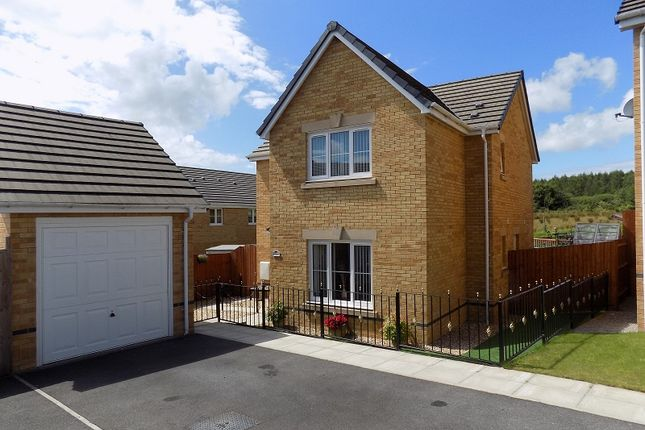 Thumbnail Detached house for sale in Clos Gwaith Brics, Tondu, Bridgend.