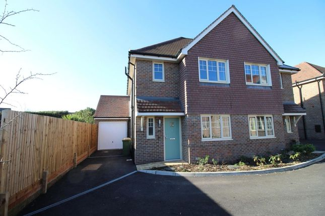 Thumbnail Semi Detached House To Rent In Winners Enclosure Knowle Lane Horton Heath