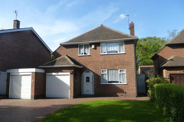 Thumbnail Detached house to rent in Widney Lane, Shirley, Solihull