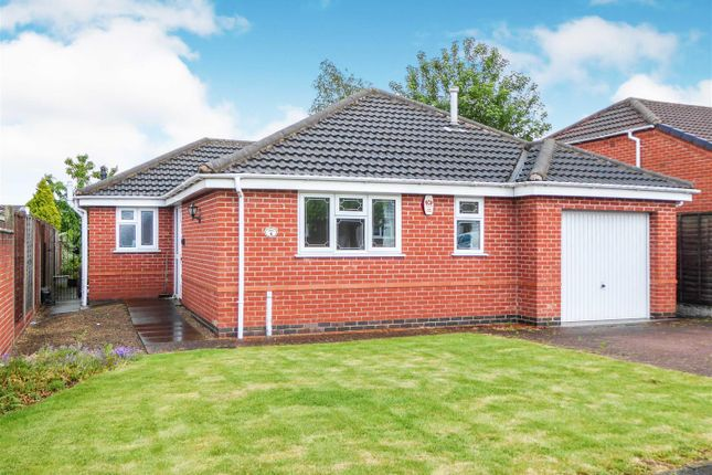 Thumbnail Detached bungalow for sale in Ravenwood, Swadlincote