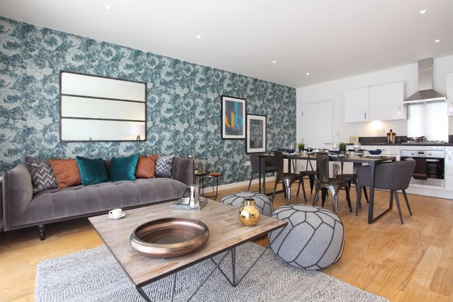 Thumbnail 1 bedroom flat for sale in Portland, London