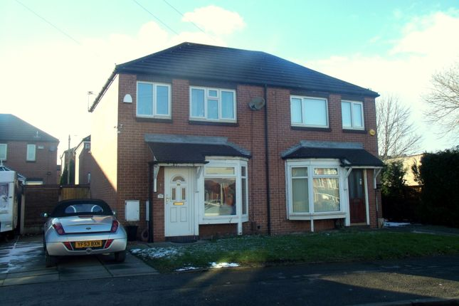 Thumbnail Semi-detached house for sale in Broomgrove Lane, Denton