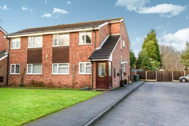 Thumbnail Flat for sale in Oakmount Close, Pelsall, Walsall