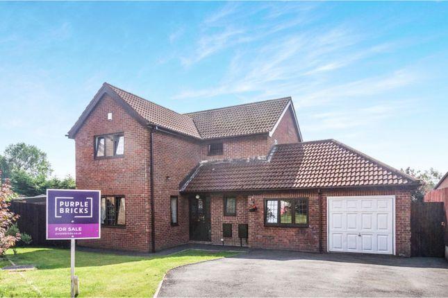 Thumbnail Detached house for sale in Llys Llewellyn, Pontypridd