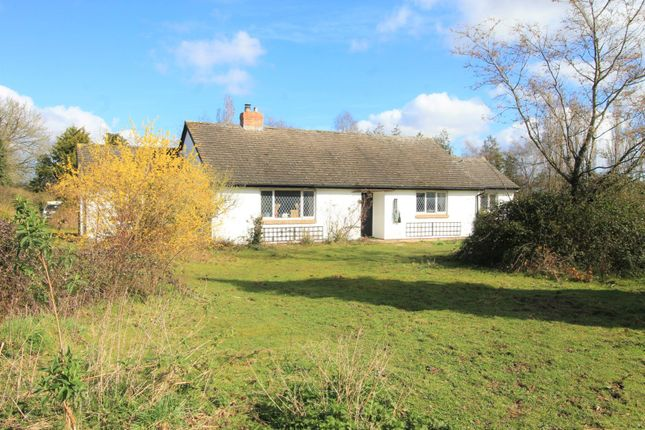 Thumbnail Detached bungalow for sale in Cobnash, Leominster