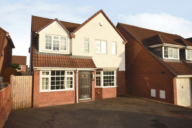 Thumbnail Detached house for sale in Aston Road, Waterhayes, Newcastle-Under-Lyme